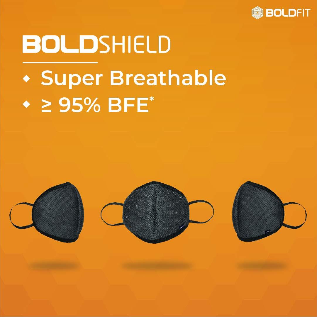 Top 5 premium international standard face masks Boldfit Reusable Face Mask 5