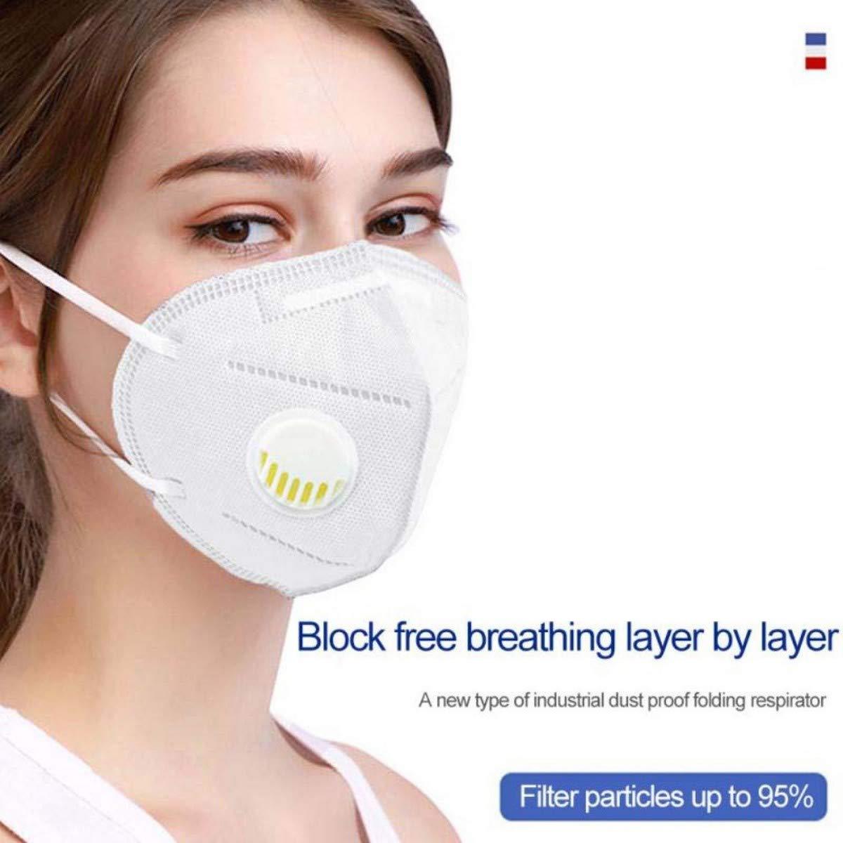 Top 5 premium international standard face masks n95 respirator face mask 2