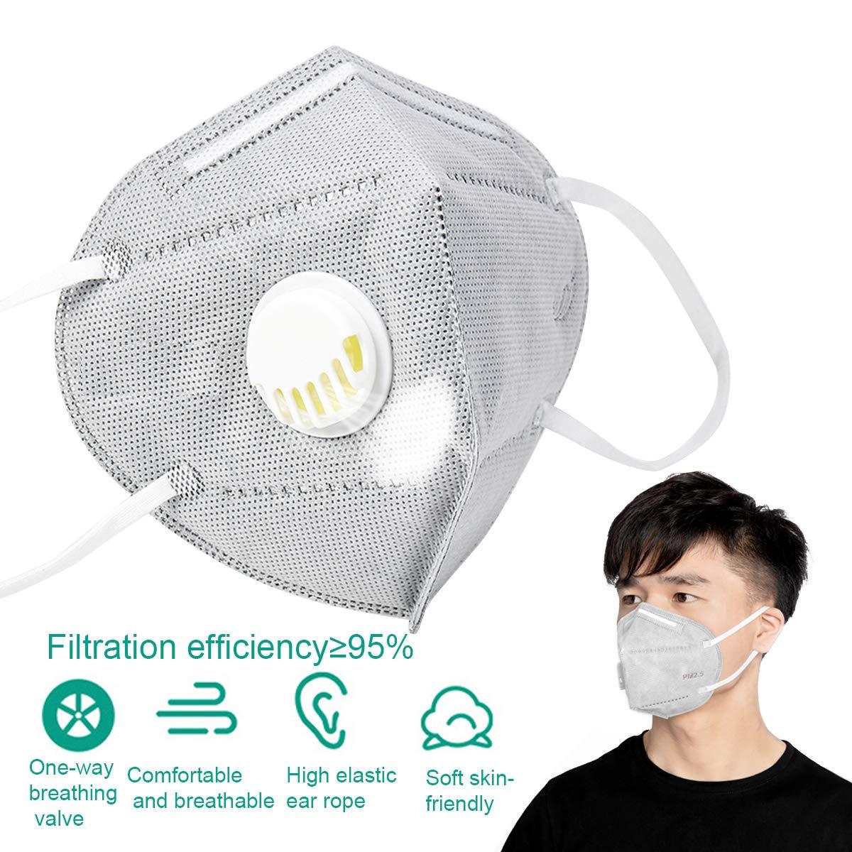 Top 5 premium international standard face masks n95 respirator face mask 3